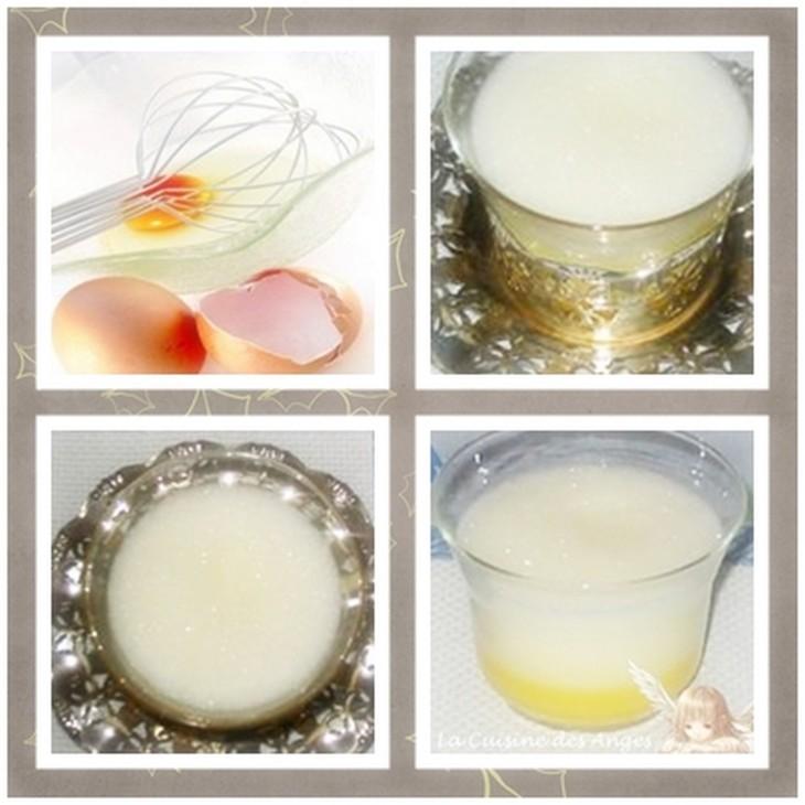 Recette du lait de poule à base d'oeuf et d'eau de fleur d'oranger, sans alcool