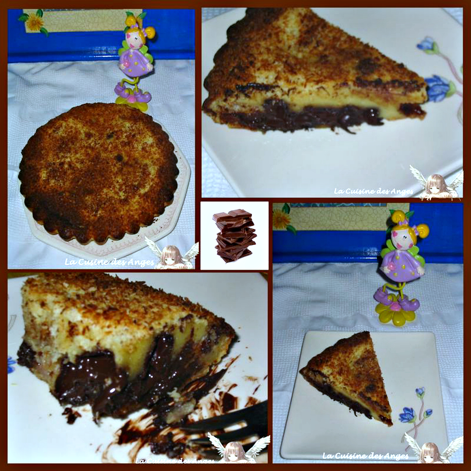 Clafoutis Exotique A La Banane Et Au Chocolat Noir La Cuisine Des