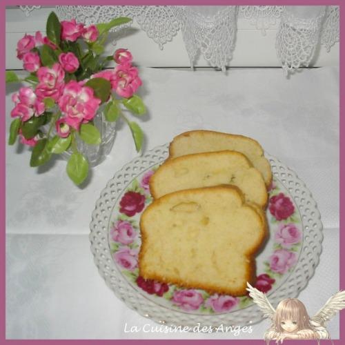 recette de cake sucré au citron et au vin blanc