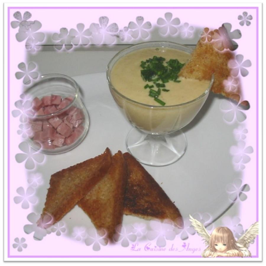 recette de soupe ou velouté aux endives, pommes de terre et maroilles