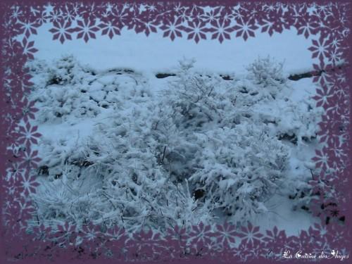 Ville de La Verrière 78 sous la neige via La Cuisine des Anges