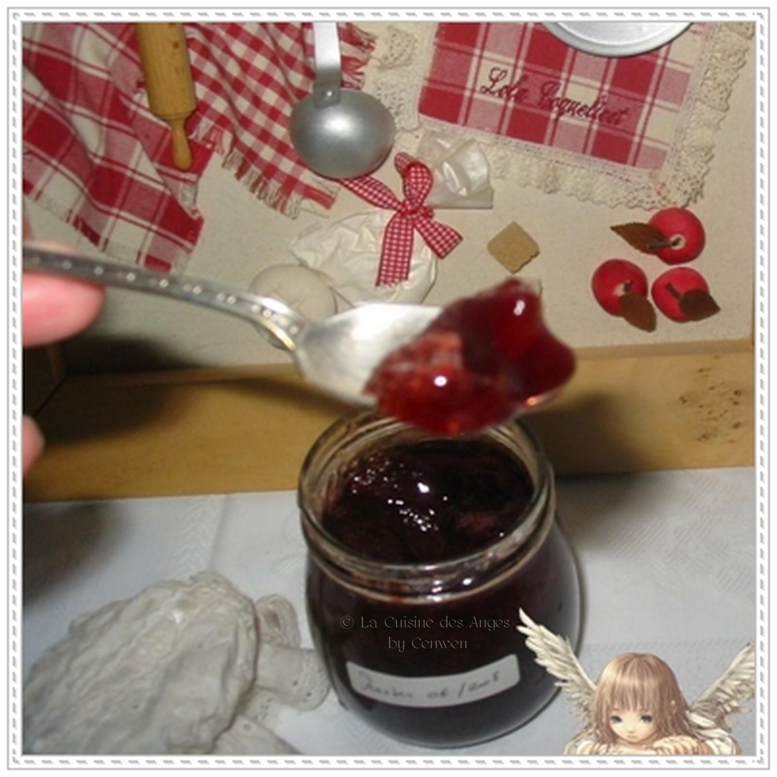 Confitures gel es la cuisine des anges - Confiture de fraise maison ...