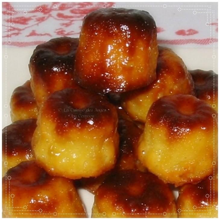 Recette traditionnelle de petit gâteau, spécialité du Bordelais, à pâte molle et tendre, parfumée au rhum et à la vanille, et recouverte d'une épaisse croûte caramélisée