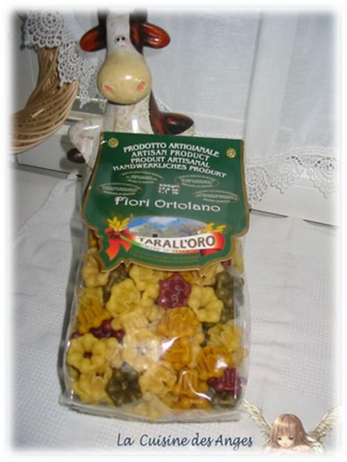 Paquet de Pâtes multicolores