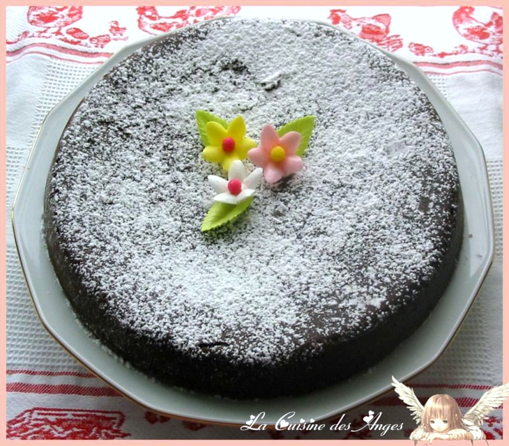 Recette de gâteau, brownie au chocolat noir et aux noix de pécan