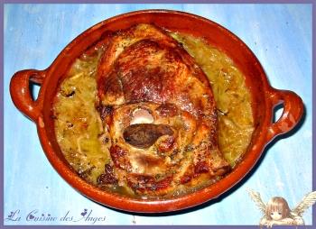 rouelle de porc au cidre – la cuisine des anges