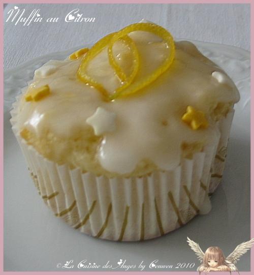 recette économique et facile de muffins au citron