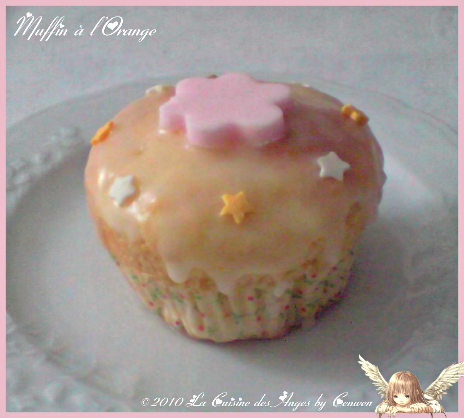 muffins l gers l orange la cuisine des anges. Black Bedroom Furniture Sets. Home Design Ideas