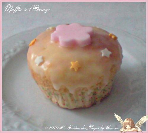 recttet facile et économique de muffins à l'orange