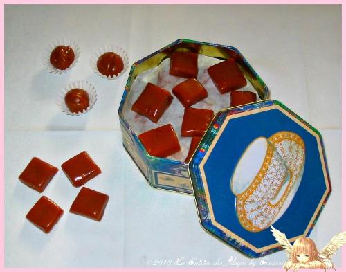 Recette de confiserie, caramels mous à la crème et au miel faits maison