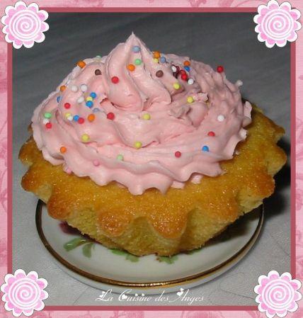 recette de cupcakes vanille et sirop de barbapapa