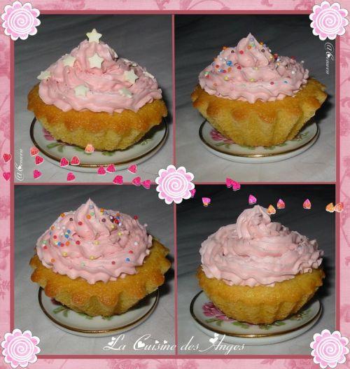 recette de cupcakes vanille barbapapa