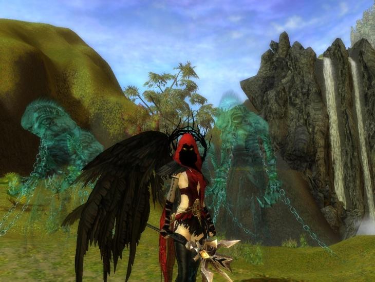 Guild Wars costume Aura de la liche