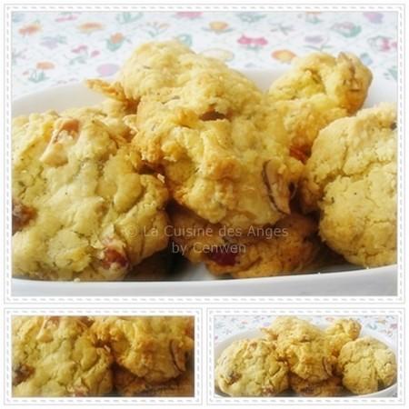 recette de biscuit pour l'apéritif, recette de cookies salés pour l'apéritif au parmesan, noisttes et chorizo