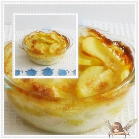 recette traditionnelle régionale de Savoie de gratin de pommes de terre à la crème