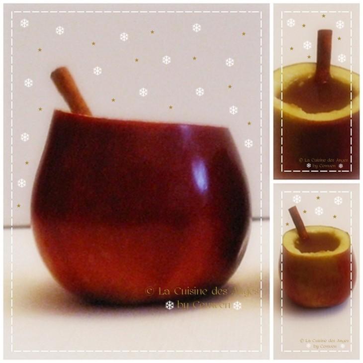 Recette de Noël de jus de pommes ou de cidre chaud aux épices