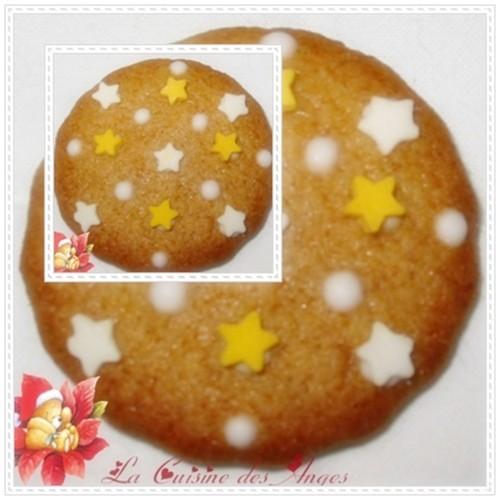 Recette de petits gâteaux sablés parfumés aux épices traditionnellement réalisée à la période de Noël