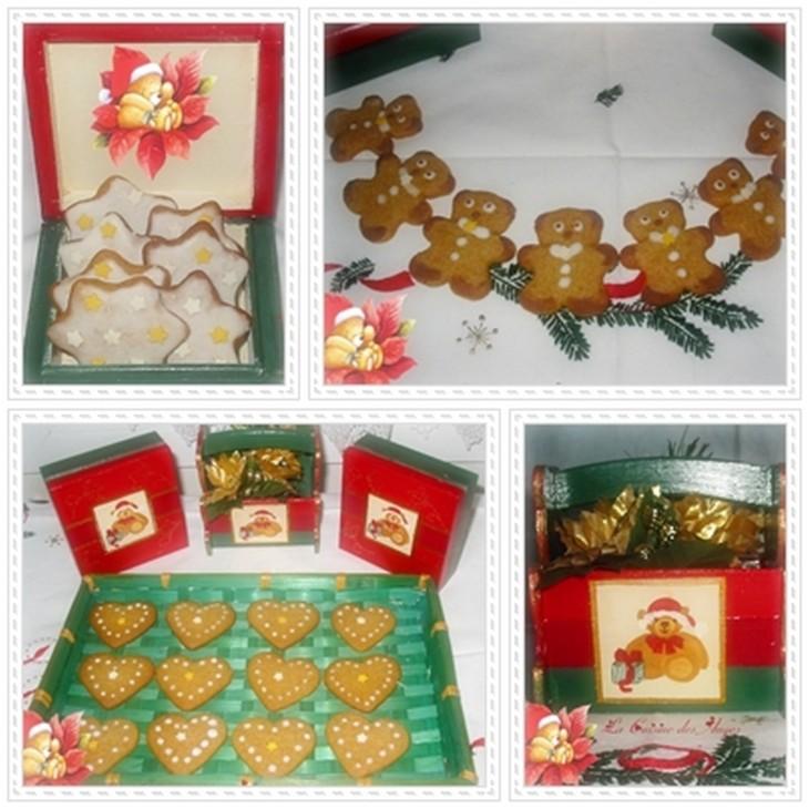 Recette de petits gâteaux sablés aux épices réalisés traditionnellement pour la période de Noël