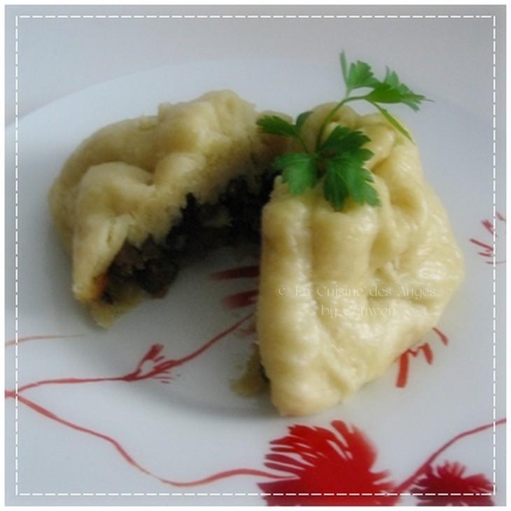 Recette de brioche à  la viande cuite à la vapeur, recette de Banh Bao, recette du Viet Nam