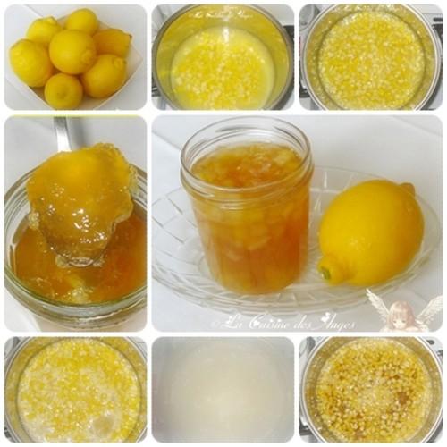 Recette de gelée ou confiture de citrons