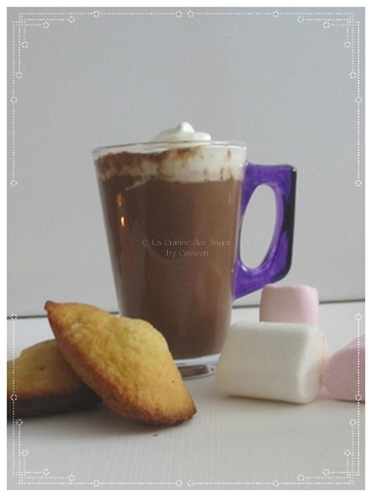 rectte de Chocolat Chaud  au Gingembre