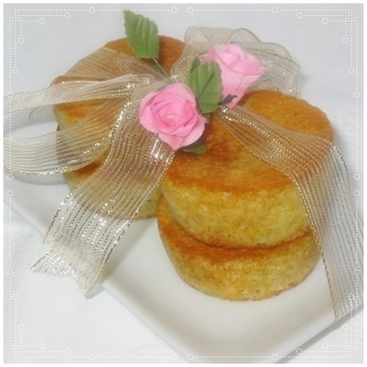 recette de Financiers, petits gâteaux aux amandes aussi appelé Visitandines