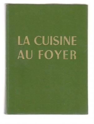"""Couverture du livre """"La cuisine au foyer"""" de Suzanne Penna"""