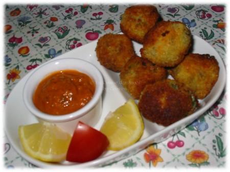 recette de boulettes de pommes de terre aux sardines
