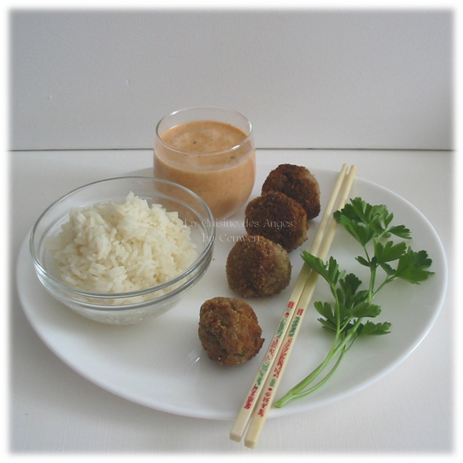 Boulettes de boeuf au gingembre la cuisine des anges - Comment cuisiner des boulettes de boeuf ...