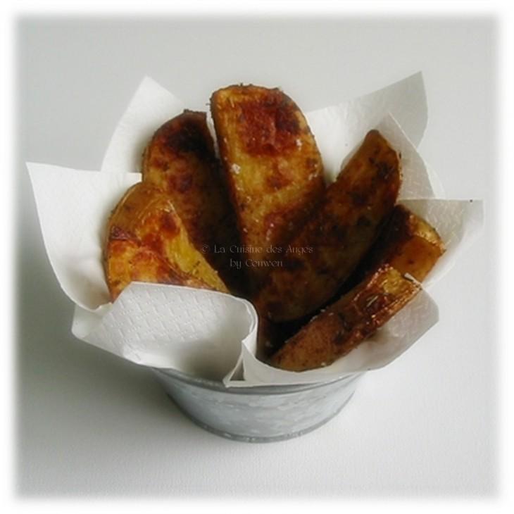 frites campagnardes XXL, country potatoes, Accopmpagnement, cuisiner avec un petit budget