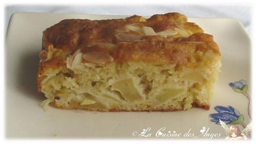 recette économique et facile de Gâteau moelleux aux pommes et aux amandes, recette petit budget