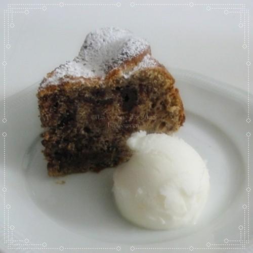 recette de Gâteau moelleux au Chocolat et au Citron ~Sorbet Citron, cuisiner avec un petit budget