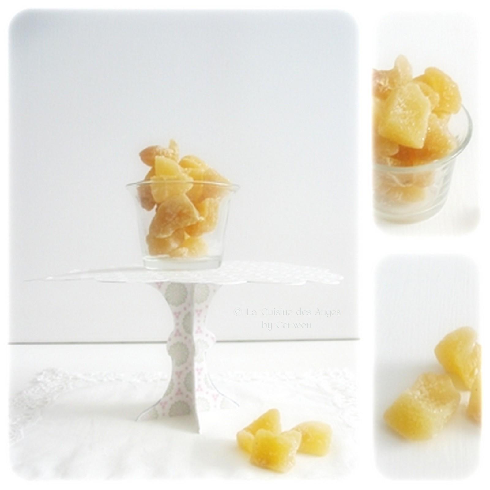 Gingembre confit la cuisine des anges - Cuisiner le gingembre ...
