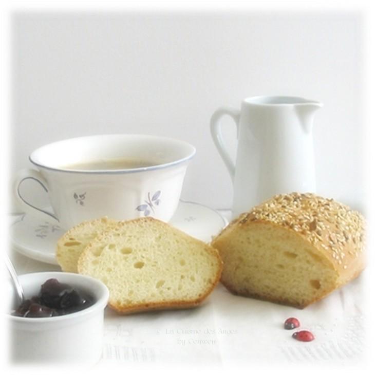 Recette de petits pains maison sans pétrissage, pain, Cuisiner avec un petit budget