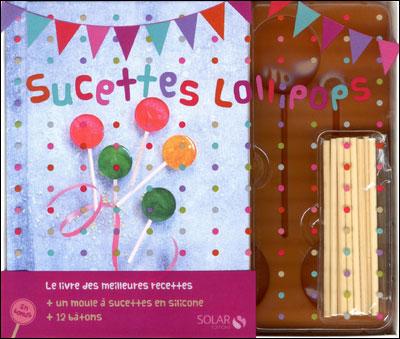 """Livre """"SucettesLollipops"""" chez Solar Editions"""