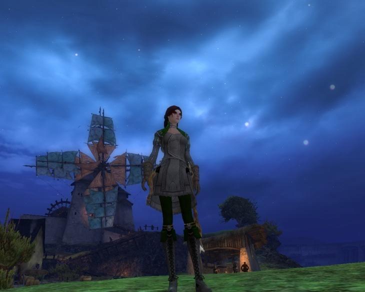 Guild Wars 2, nécromancienne, zone de départ des Humains