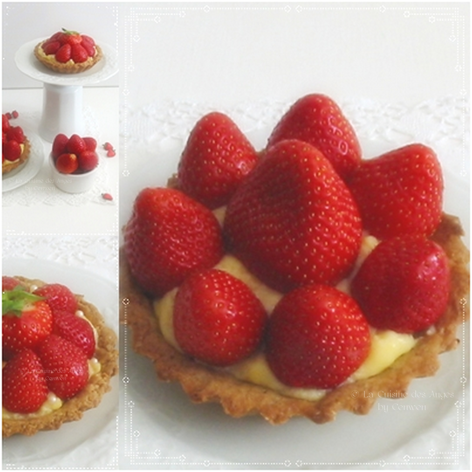tartelettes aux fraises la cuisine des anges