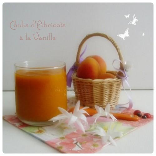 Recette de Coulis d'Abricots à la Vanille