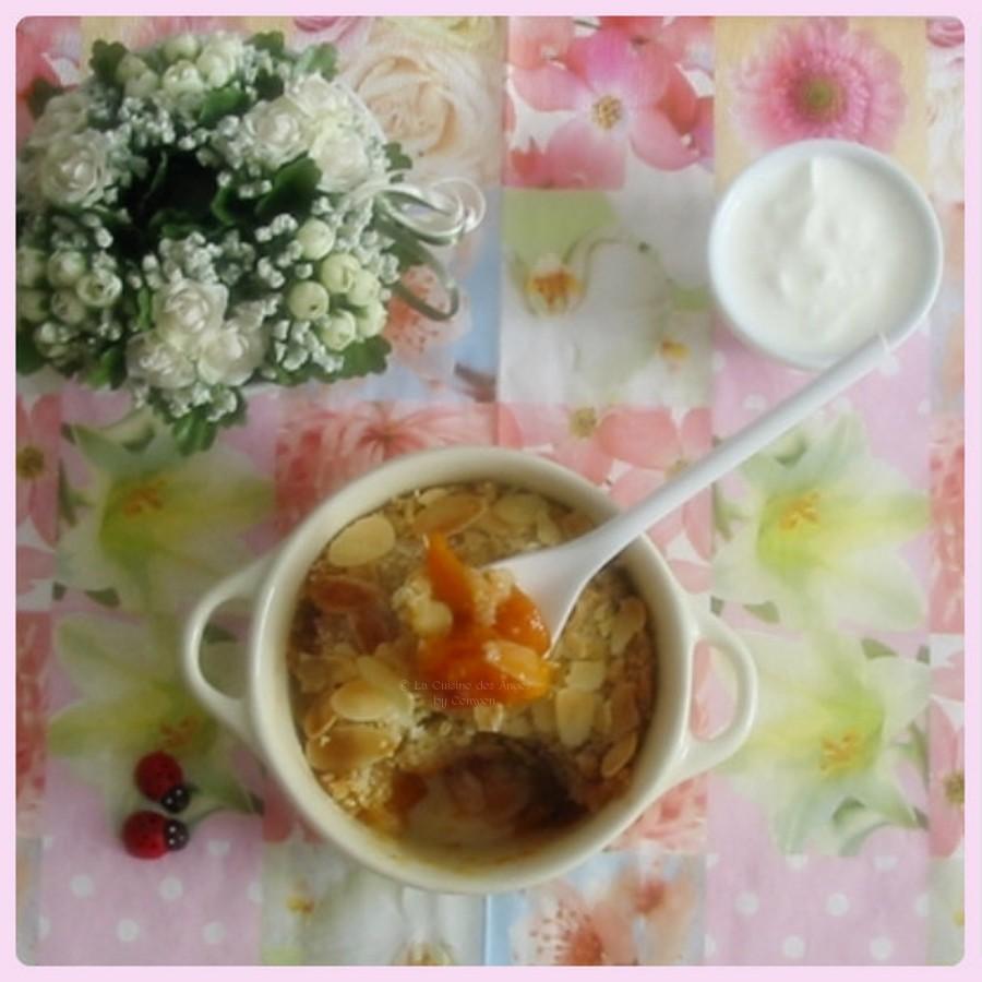 recette de dessert, Crumble aux Abricots à la vanille et à la cannelle
