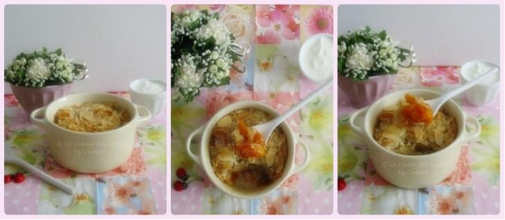 Crumble aux Abricots à la vanille et à la cannelle