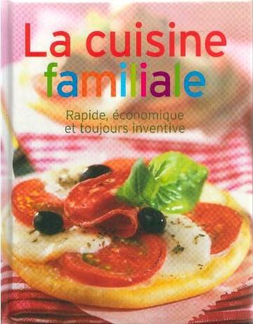 Livre La cuisine familiale (Lidl)