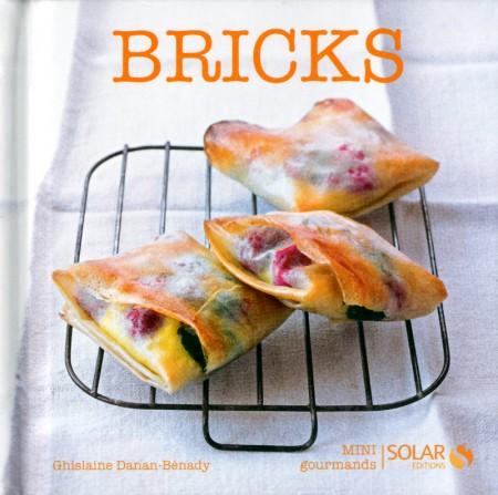 Couverture du livre Bricks Mini Gourmands aux Editions Solar