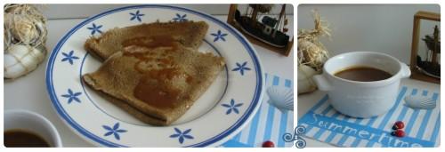 Recette de crêpes, Galettes bretonnes et caramel au beurre salé