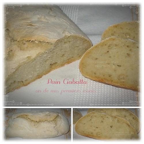 Recette de Pain Ciabatta, pain italien, biga, levain à la levure de bière