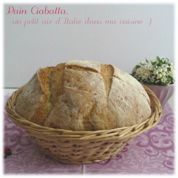Recette de Pain Ciabatta, recette italienne, levain, biga