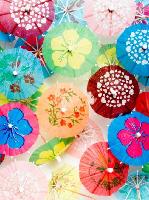 parasols à cocktails