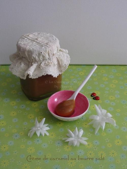 recette du salidou ou  Crème de caramel au beurre salé