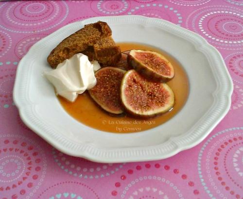 recette de Figues Fraiches sautées au Cidre et au Miel