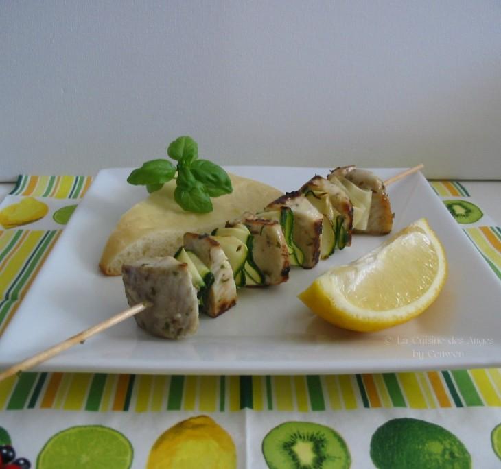 recette de poisson, recette de brochette, Kebab de poisson au cumin et citron, Kebab de drake Guild Wars