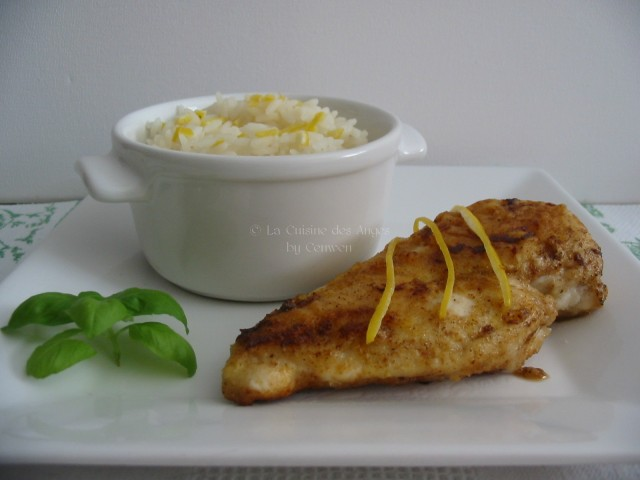 Recette de plat, viande, volaille, poulet au citron, recette facile et économique